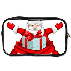 Merry Christmas Santa Claus Toiletries Bags