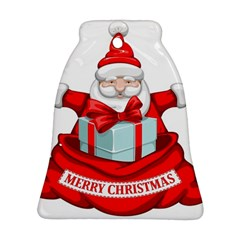 Merry Christmas Santa Claus Ornament (bell)