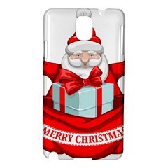 Merry Christmas Santa Claus Samsung Galaxy Note 3 N9005 Hardshell Case by Alisyart