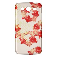 Pattern Flower Red Plaid Green Samsung Galaxy Mega 5 8 I9152 Hardshell Case  by Alisyart