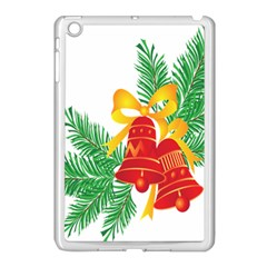 New Year Christmas Bells Tree Apple Ipad Mini Case (white)