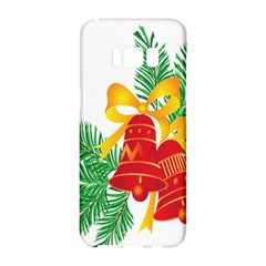 New Year Christmas Bells Tree Samsung Galaxy S8 Hardshell Case  by Alisyart