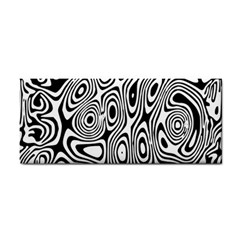Psychedelic Zebra Black Circle Cosmetic Storage Cases by Alisyart