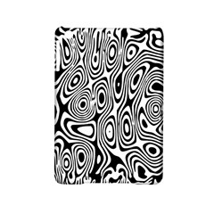 Psychedelic Zebra Black Circle Ipad Mini 2 Hardshell Cases by Alisyart