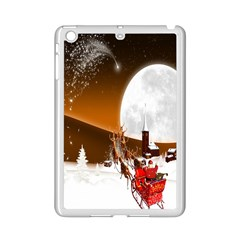 Santa Claus Christmas Moon Night Ipad Mini 2 Enamel Coated Cases