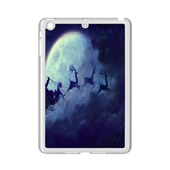 Santa Claus Christmas Night Moon Happy Fly Ipad Mini 2 Enamel Coated Cases