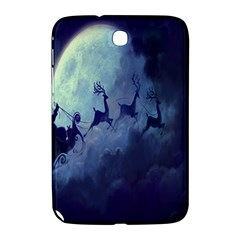 Santa Claus Christmas Night Moon Happy Fly Samsung Galaxy Note 8 0 N5100 Hardshell Case  by Alisyart