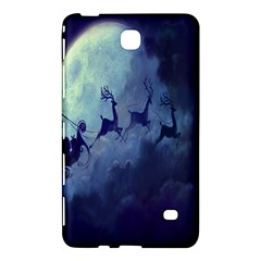 Santa Claus Christmas Night Moon Happy Fly Samsung Galaxy Tab 4 (8 ) Hardshell Case  by Alisyart
