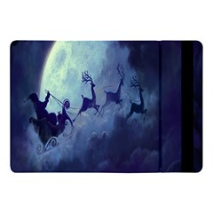 Santa Claus Christmas Night Moon Happy Fly Apple Ipad Pro 10 5   Flip Case by Alisyart