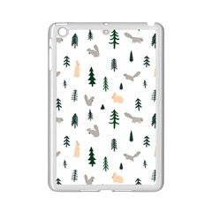 Squirrel Rabbit Tree Animals Snow Ipad Mini 2 Enamel Coated Cases