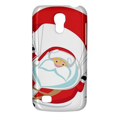 Skydiving Christmas Santa Claus Galaxy S4 Mini by Alisyart