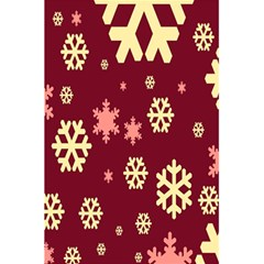 Snowflake Winter Illustration Colour 5 5  X 8 5  Notebooks