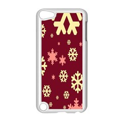 Snowflake Winter Illustration Colour Apple Ipod Touch 5 Case (white)