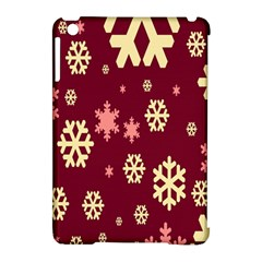 Snowflake Winter Illustration Colour Apple Ipad Mini Hardshell Case (compatible With Smart Cover) by Alisyart