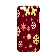 Snowflake Winter Illustration Colour Apple Iphone 6/6s Hardshell Case by Alisyart