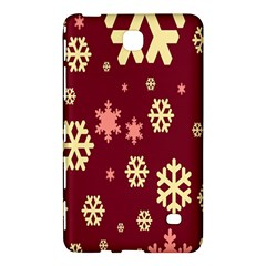 Snowflake Winter Illustration Colour Samsung Galaxy Tab 4 (7 ) Hardshell Case  by Alisyart