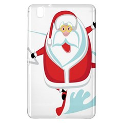 Surfing Snow Christmas Santa Claus Samsung Galaxy Tab Pro 8 4 Hardshell Case by Alisyart