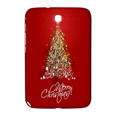 Tree Merry Christmas Red Star Samsung Galaxy Note 8 0 N5100 Hardshell Case  by Alisyart