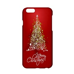 Tree Merry Christmas Red Star Apple Iphone 6/6s Hardshell Case by Alisyart