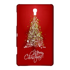 Tree Merry Christmas Red Star Samsung Galaxy Tab S (8 4 ) Hardshell Case