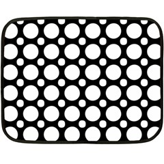 Tileable Circle Pattern Polka Dots Fleece Blanket (mini)