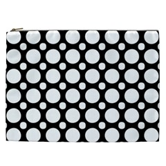 Tileable Circle Pattern Polka Dots Cosmetic Bag (xxl)  by Alisyart