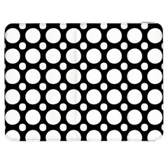 Tileable Circle Pattern Polka Dots Samsung Galaxy Tab 7  P1000 Flip Case