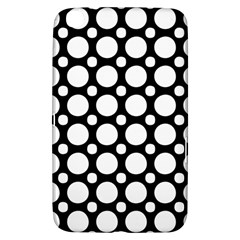 Tileable Circle Pattern Polka Dots Samsung Galaxy Tab 3 (8 ) T3100 Hardshell Case
