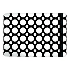 Tileable Circle Pattern Polka Dots Samsung Galaxy Tab Pro 10 1  Flip Case by Alisyart