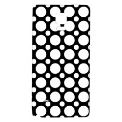 Tileable Circle Pattern Polka Dots Galaxy Note 4 Back Case