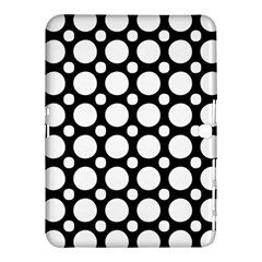 Tileable Circle Pattern Polka Dots Samsung Galaxy Tab 4 (10 1 ) Hardshell Case