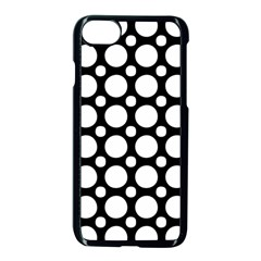 Tileable Circle Pattern Polka Dots Apple Iphone 7 Seamless Case (black) by Alisyart