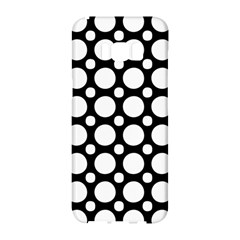 Tileable Circle Pattern Polka Dots Samsung Galaxy S8 Hardshell Case  by Alisyart
