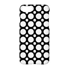 Tileable Circle Pattern Polka Dots Apple Iphone 8 Hardshell Case