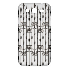 Iron Fence Grey Strong Samsung Galaxy Mega 5 8 I9152 Hardshell Case  by Alisyart