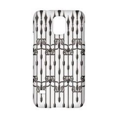 Iron Fence Grey Strong Samsung Galaxy S5 Hardshell Case