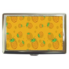 Fruit Pineapple Yellow Green Cigarette Money Cases