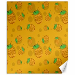 Fruit Pineapple Yellow Green Canvas 20  X 24   by Alisyart