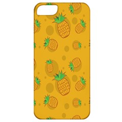 Fruit Pineapple Yellow Green Apple Iphone 5 Classic Hardshell Case