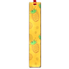 Fruit Pineapple Yellow Green Large Book Marks