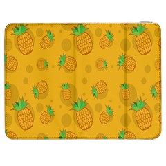 Fruit Pineapple Yellow Green Samsung Galaxy Tab 7  P1000 Flip Case