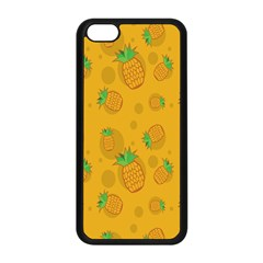 Fruit Pineapple Yellow Green Apple Iphone 5c Seamless Case (black) by Alisyart