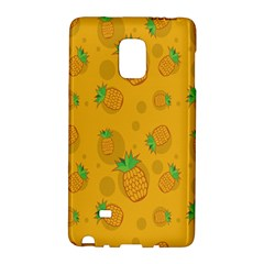 Fruit Pineapple Yellow Green Galaxy Note Edge by Alisyart