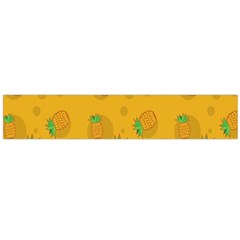 Fruit Pineapple Yellow Green Large Flano Scarf  by Alisyart