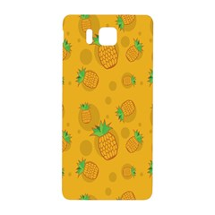 Fruit Pineapple Yellow Green Samsung Galaxy Alpha Hardshell Back Case by Alisyart