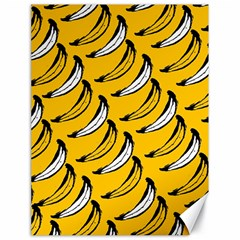 Fruit Bananas Yellow Orange White Canvas 18  X 24