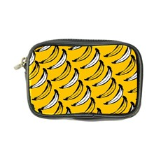 Fruit Bananas Yellow Orange White Coin Purse