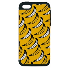 Fruit Bananas Yellow Orange White Apple Iphone 5 Hardshell Case (pc+silicone) by Alisyart