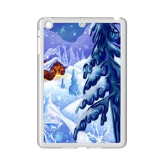 Christmas Wooden Snow Ipad Mini 2 Enamel Coated Cases