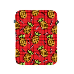 Fruit Pineapple Red Yellow Green Apple Ipad 2/3/4 Protective Soft Cases by Alisyart